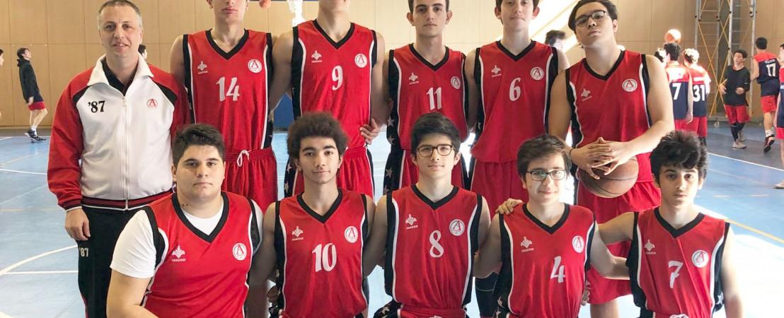 Anabilim Anadolu Lisesi Genç Erkek Basketbol Takımı, Ümraniye İlçe Şampiyonu Oldu!