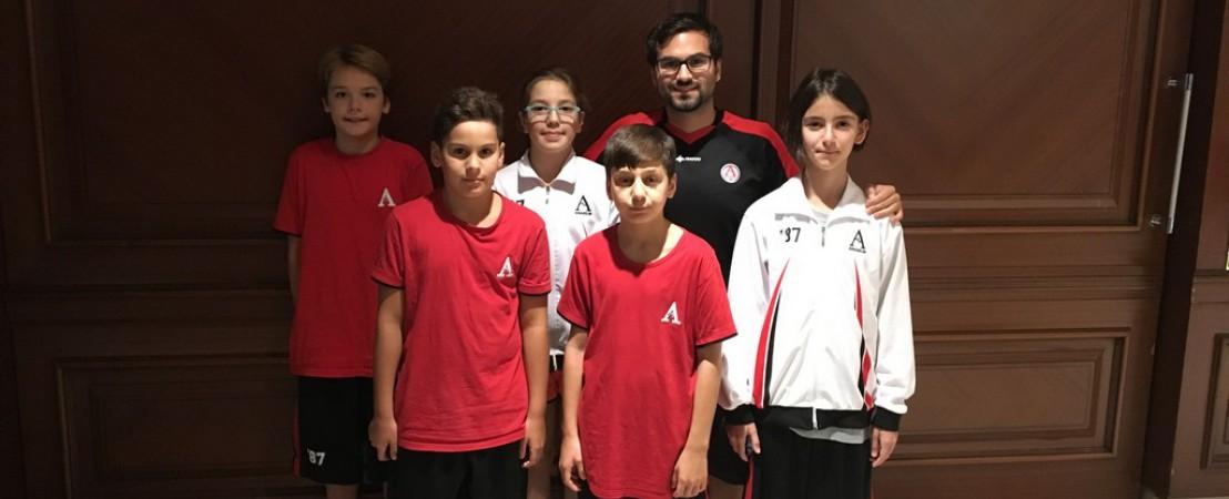 Anabilim Spor Kulübü Bursa'dan Madalyalar İle Döndü!